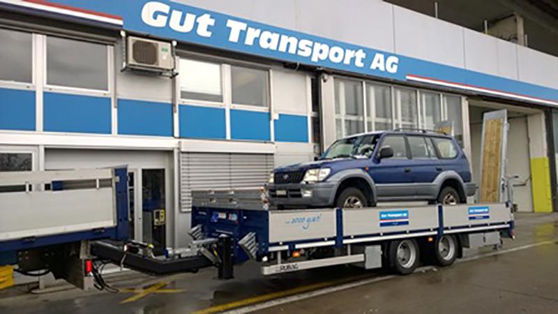 Gut Transport Anhänger