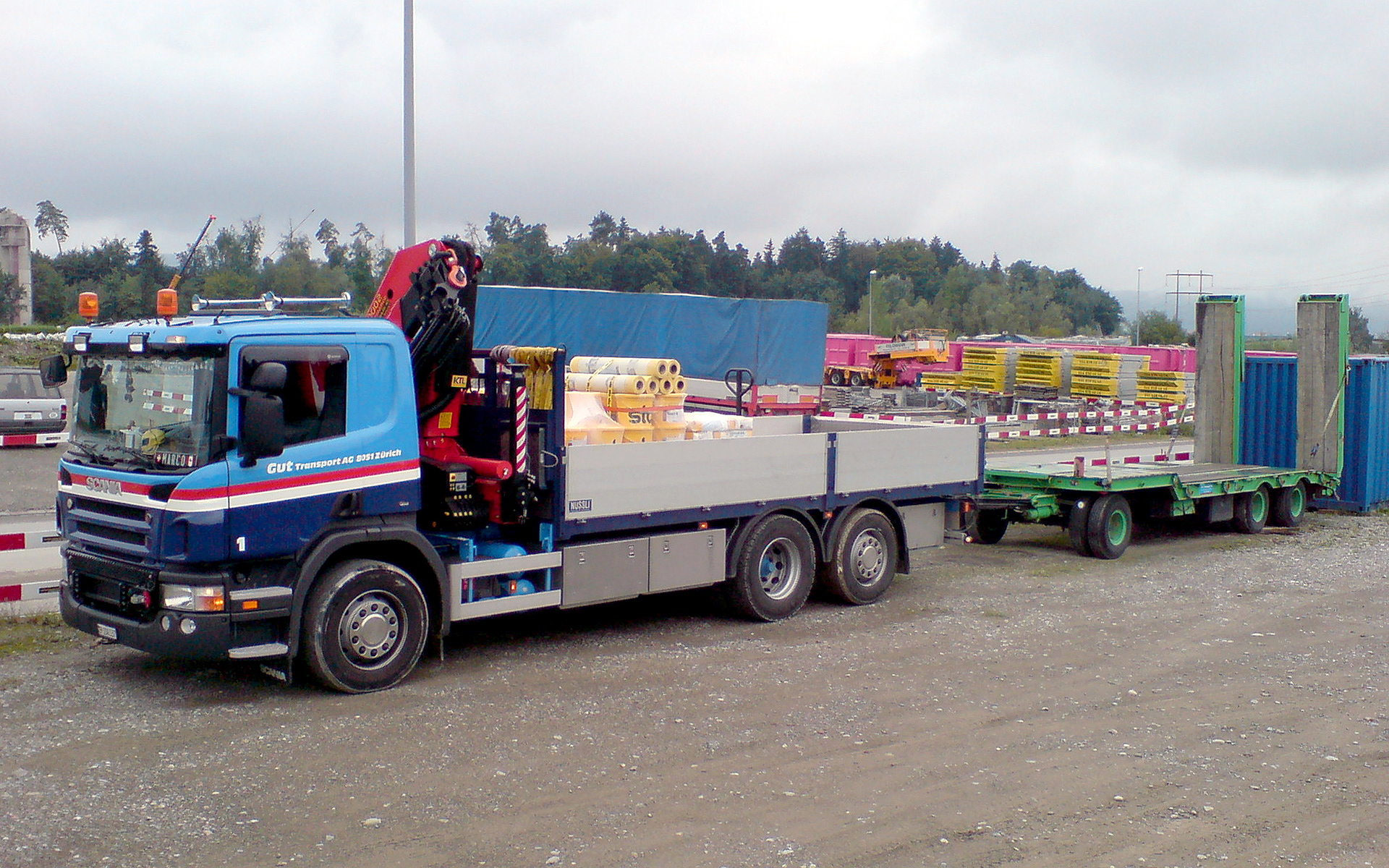 Gut Transport – Wagen 1