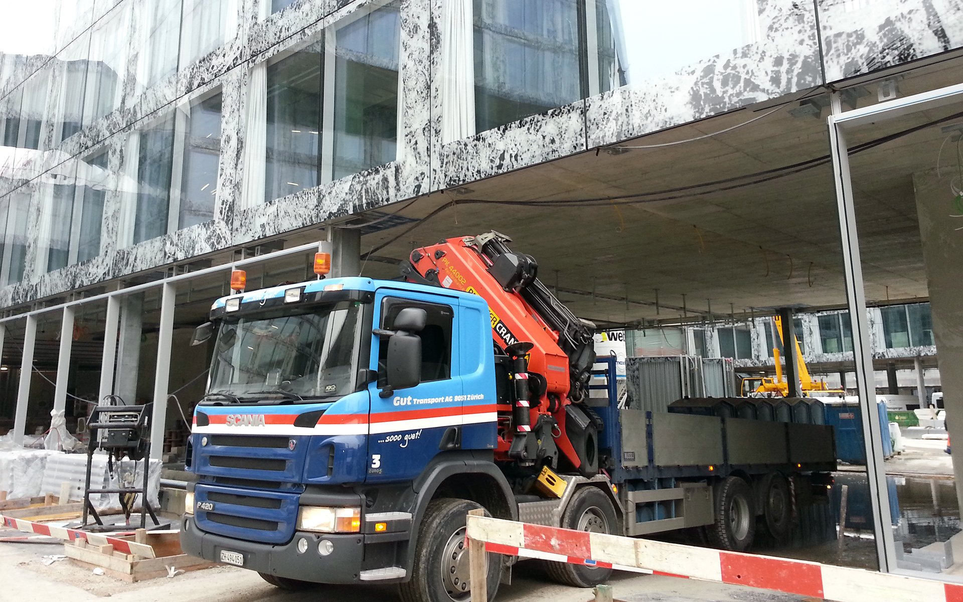 Gut Transport – Wagen 3