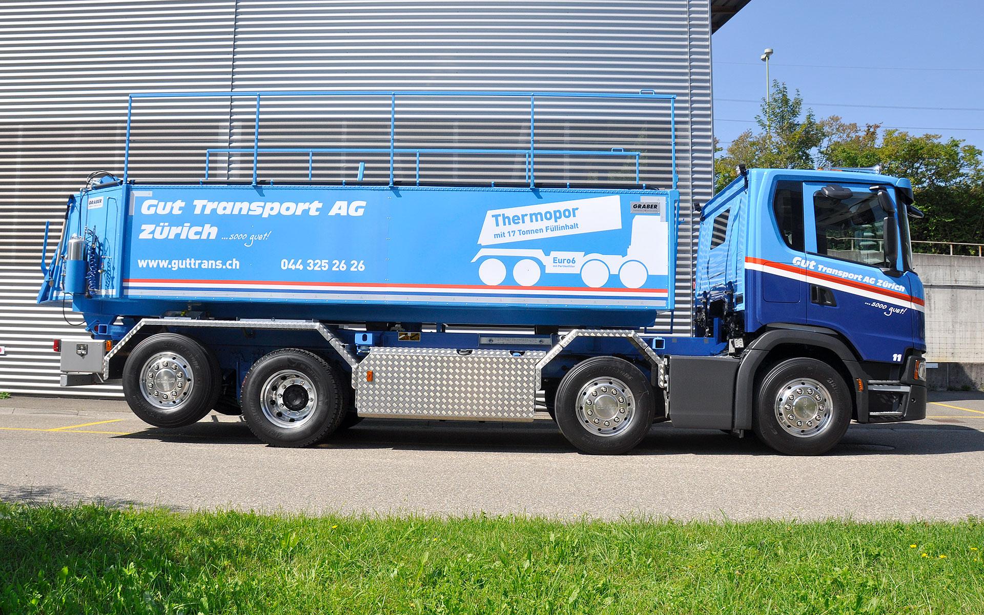 Gut Transport – Wagen 11 Thermopor