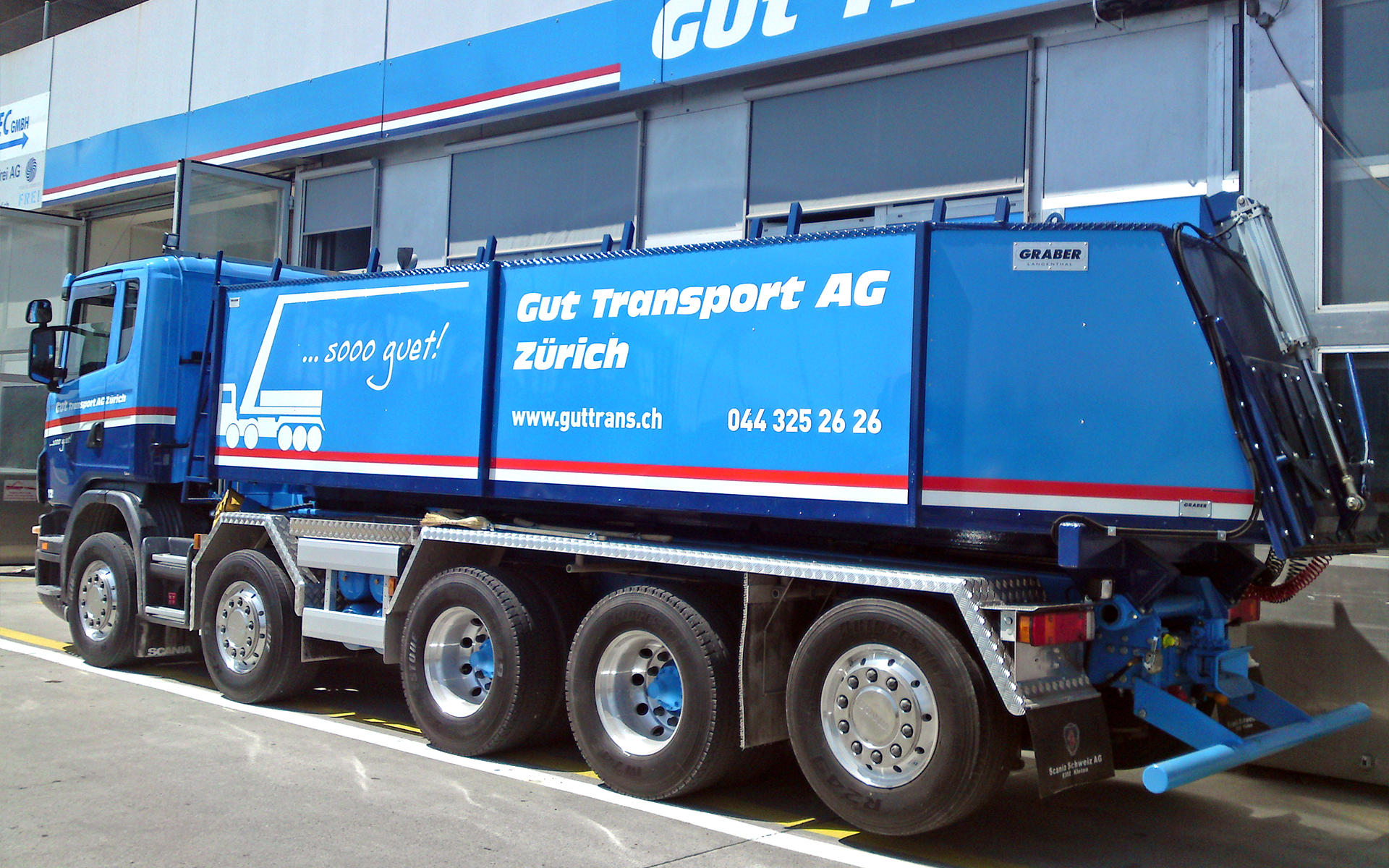 Gut Transport Wagen 12 Thermopor-Kipper